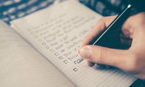 checklist for weight gain plan