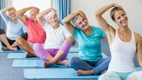 Exercise to manage stress and CKD