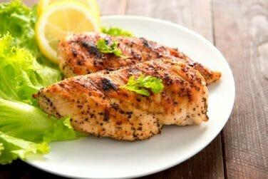 Crunchy Lemon Herbed Chicken