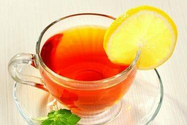 kidney friendly Cold Lemon Black Tea