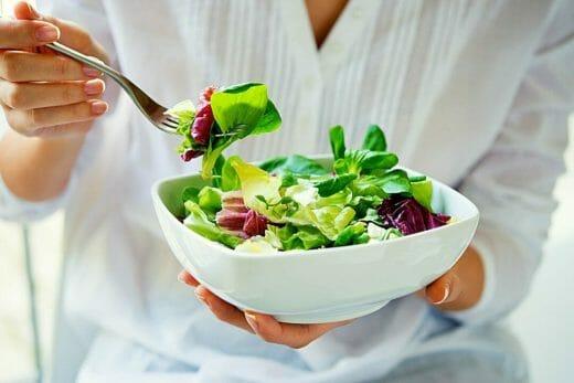 leafy kidney diet salad